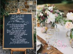 A rustic-inspired, gorgeous Tuscan wedding  planned by www.sposiamovi.it/en Photo LisaPoggi