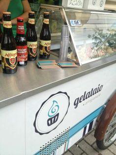 1ª Edição do Sorvete de Cerveja no Mestre-Cervejeiro.com Juvevê. Sorvetes de Affligem Dubbel, Eisenbahn Strong Golden Ale, Eisenbahn Weizenbier, Bier Hoff Red Ale, Mort Subite Kriek e Guinness.  #cerveja #beer #sorvete #icecream