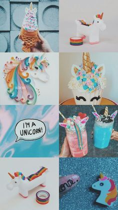 Unicorn in the Forest Rainbow Wallpaper, Galaxy Wallpaper, Aesthetic Pastel Wallpaper, Aesthetic Wallpapers, Unicorn Painting, Local Craft Fairs, Unicorn Crafts, Rainbow Aesthetic, Simple Wallpapers