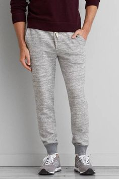 AEO Fleece Jogger Pant by AEO | Where style and comfort meet, adventure-ready at a moment's notice. Shop the AEO Fleece Jogger Pant and check out more at AE.com.