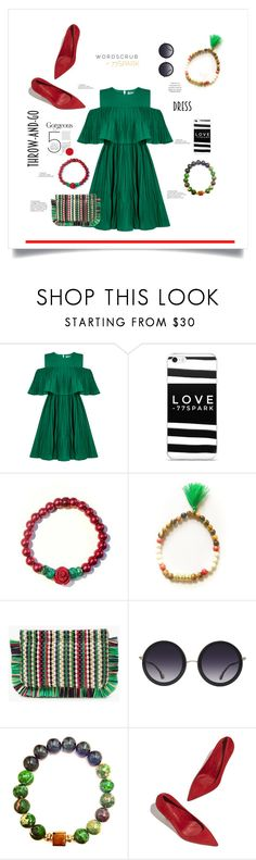 """Easy, Breezy Dressed to impress!"" by shop77spark ❤ liked on Polyvore featuring Jovonna, J.Crew and Alice + Olivia"