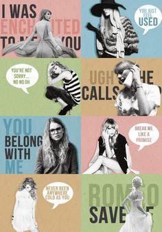 <3 <3 <3 Taylor Swift songs