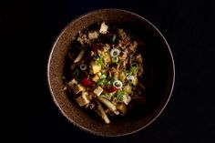 """20 Totally Insane NYC Dishes You Need To Try  #refinery29  http://www.refinery29.com/weird-restaurants-in-nyc#slide-18  What: Mapo Tofu Chili Cheese FriesWhere: King Noodle It's always fun to plop different junk on top of french fries. King Noodle innovates with their unique Asian poutine. """"The dish is a combination of two Sichuan specialties — Mapo tofu and stir-fried potato slivers, the latter of which is like a pile of tiny, thin cut french fries cooked with Sichuan ..."""