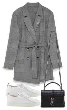 """Untitled #5361"" by theeuropeancloset on Polyvore featuring Yves Saint Laurent"