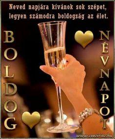 Birthday Wishes, Happy Birthday, Name Day, Hurricane Glass, Shot Glass, Cooking Recipes, Tableware, Tulips, Saint Name Day