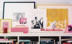 Nice styling of shelf