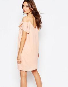 bdefaac34fbf Vila Cold Shoulder Dress