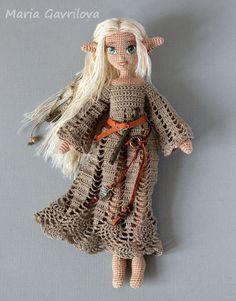 Crochet Fairy, Crochet Dragon, Cute Crochet, Crochet Toys, Crochet Dolls Free Patterns, Crochet Doll Pattern, Doll Patterns, Halloween Crochet, Doll Tutorial