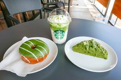 Starbucks Japan releases matcha scones and doughnuts with their new matchaFrappuccino | SoraNews24