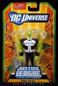 DC Universe Justice League Unlimited Fan Collection Action Figure Brainiac by DC Comics