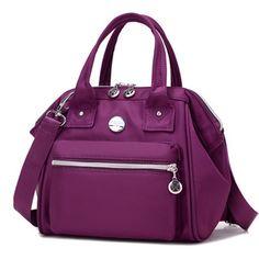 7764e0a6515 Women Nylon Tote Handbags Casual Shoulder Bags Outdoor Capacity Crossbody  Shopping Bags Nylon Bag, Fashion