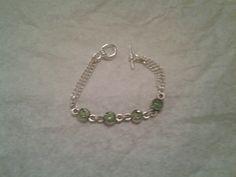 Birthstone bracelet August