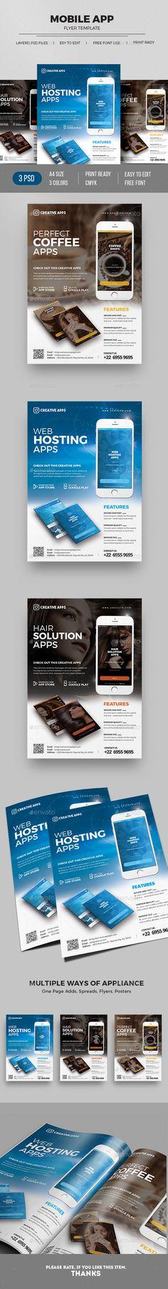 Android App Design, Android Apps, Ad Design, Flyer Design, Graphic Design, App Promotion, Promotional Flyers, Flyer Printing, Catalog Design