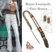 #regataestampada #lookcasual #colar #brinco #necklace #earring #argollabijouxebureau