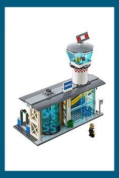 LEGO City Airport Passenger Terminal 60104 Creative Play Building Toy Pack your bags and get ready to go on vacation! Head to the airport and check in at the Lego City Airport, All Lego, Lego Construction, Lego Models, Auto Service, Creative Play, City Buildings, Building Toys, Boy Or Girl