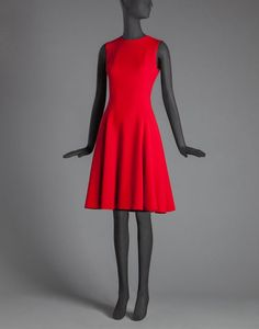 SLEEVELESS CADY BALLERINA DRESS $ 2,445.00