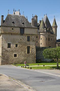 The spectacular Jumihac Chateau, Aquitaine, France