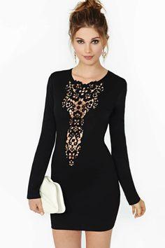Dream Springs Dress - Black