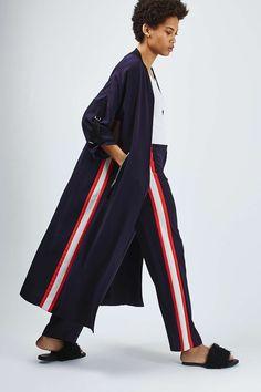 Sport Bomber Style Duster Coat - Jackets & Coats - Clothing - Topshop