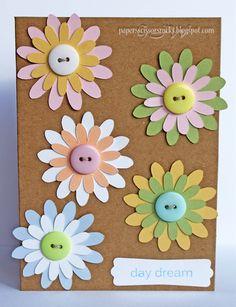 Glenda's Papers, Scissors & Rocks: Burst of blooms