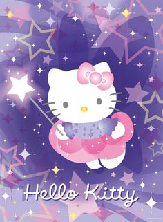 Hello Kitty in the stars:
