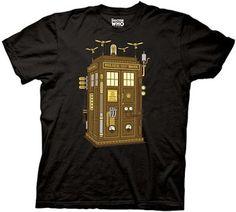 Steam punk Tardis T-shirt.