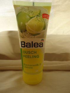 Balea Duschpeeling Buttermilk http://www.beautytester.de/testbericht/balea-duschpeeling-buttermilk-lemon-limited-edition_3733/