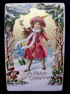 christmas vintage post cards - Bing Images