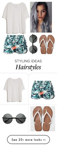"""Summer: Cool, Unique Grey Hair!!!"" by reeva931 on Polyvore"