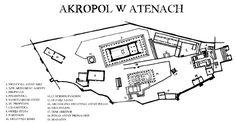 plan Akropolu w Atenach