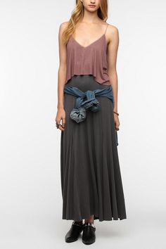 Ecote Sand Art Maxi Dress  #UrbanOutfitters