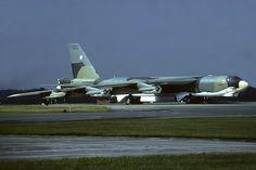 58-0207 B-52G 19th BW, Robins AFB, RAF Fairford 12-9-1982   by Stuart Freer - Touchdown Aviation