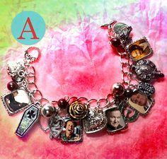 robin williams   charm bracelet necklace, design A by VoDoFad