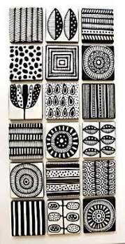 Most current Pics Ceramics design drawing Strategies Jocelyn Proust Designs, Musterdesign, handbemalte Fliesen Zentangle Patterns, Tile Patterns, Pattern Art, Print Patterns, Pattern Design Drawing, Painting Patterns, Design Patterns, Painting On Tiles, Doodle Patterns