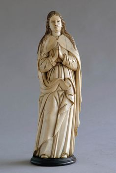 Virgen de Marfil,proveniente de Filipinas  1601-1700  Museo de las Artes Decorativas de Madrid