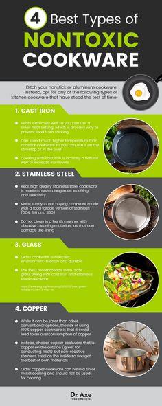 Nontoxic cookware - Dr. Axe