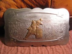 Old-IRVINE-JACHENS-Boys-Rodeo-Trophy-Barrel-Racing-Belt-Buckle-$195 or MAKE-OFFER We are OLDWEST on eBay and have over 1200 vintage belt buckles listed us. Here is the link: http://stores.ebay.com/OWN-A-PIECE-OF-THE-OLDWEST E-Mail us at saddlerestoration@hotmail.com