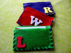 Library Card Holder craft for Library Day and/or Library Storytime