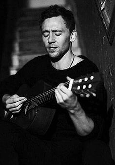 He plays guitar. He sings. He dances. He acts. He quotes Shakespeare. He is overly adorable. Is there anything Tom can't do?