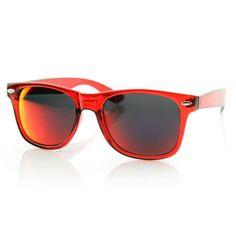 Crazy Revo Lens Colorized Horned Rim Sunglasses 8560