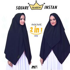 2 instant ways in 1 khimar