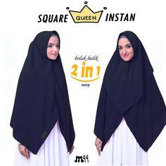 2 instant ways in 1 khimar