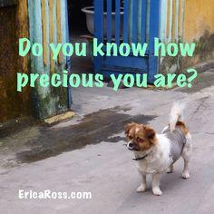 You are precious.   Check out www.EricaRoss.com