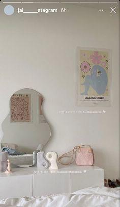 Dream Rooms, Dream Bedroom, Room Ideas Bedroom, Bedroom Decor, Bedroom Inspo, Room Ideias, Pastel Room, Pastel Decor, Minimalist Room