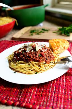The Pioneer Woman's Spaghetti Sauce.