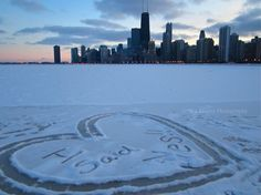 an example of passion.... imagine the time it took (during below freezing conditions) to do this!  LOVE IT :)