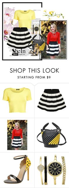 """Sheins contekst"" by dinka1-749 ❤ liked on Polyvore featuring Pilot, Sonia Rykiel and WithChic"