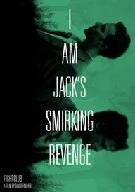 Fight Club - I am Jack's smirking revenge Minimal Movie Posters, Film Posters, Nerd Love, My Love, Fight Club Quotes, Marla Singer, Cultura Pop, Great Movies, Movie Quotes