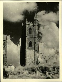 Bristol at War 1940 - St. Mary-le-Port Church