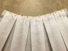Tutorial fai da te: Come cucire una gonna midi a pieghe via DaWanda.com
